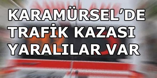 Karamürsel'de Trafik Kazası 3 Yaralı