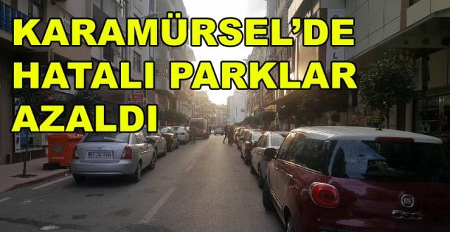 Karamürsel'de Hatalı Parklar Azaldı