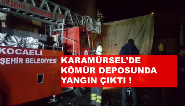Karamürsel 'de Korkutan Yangın