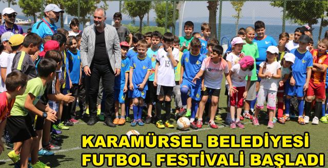 Futbol Festivali Başladı