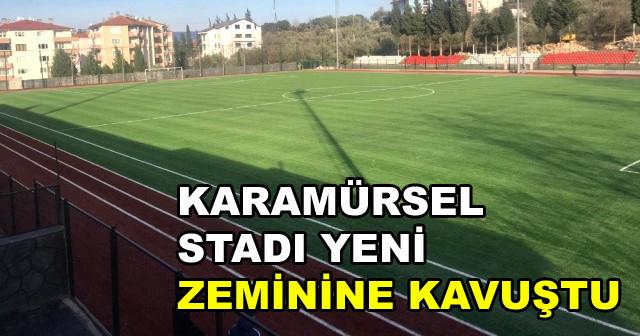 Karamürsel Stadı Yenilendi