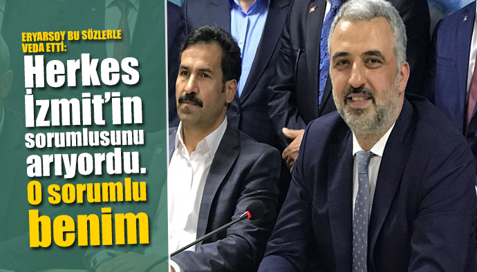 AK Parti Kocaeli İl Başkanı İstifa Etti