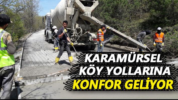 Karamürsel'de Yollar Yenileniyor