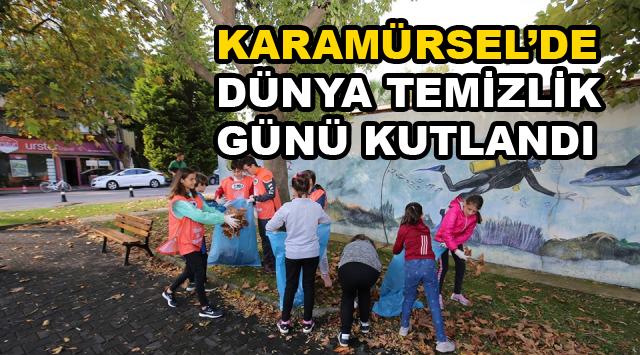 Karamürsel'de Dünya Temizlik Günü'ne Destek