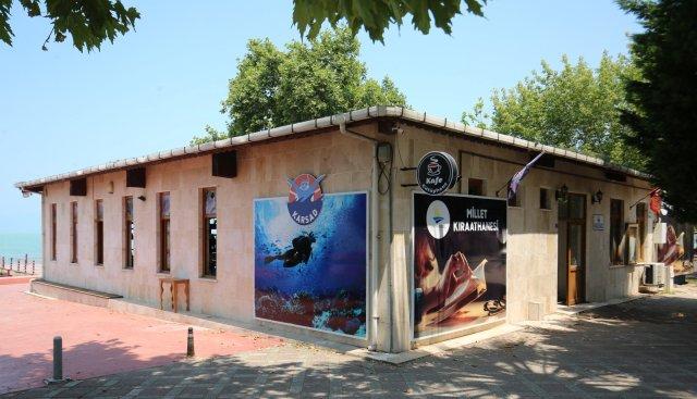 Karamürsel'de Millet Kıraathanesi Açıldı