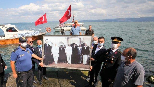 Atatürk'ün Karamürsel'e Gelişinin 88. Yıldönümü Kutlandı