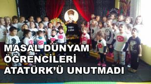 Minikler Atatürk'ü Unutmadı