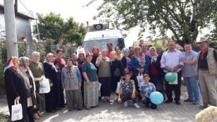 AK Kadınlar Köy Ziyareti Yaptı