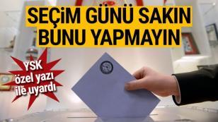 Oy Kullanacaklar Dikkat