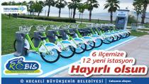 Karamürsel Sahiline Bisiklet Geliyor