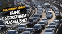 Trafik sigortasına büyük indirim