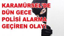 Karamürsel'de Hırsızlık Girişimi