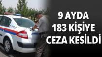 Karamürsel'de 183 Kişiye Ceza Kesildi