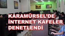 Karamürsel'de İnternet Kafeler Denetlendi