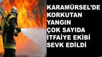 Karamürsel'de Yangın