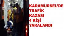 Karamürsel'de Trafik Kazası 4 Yaralı