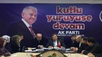 AK Parti İlçe Danışması Yapıldı