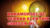 Karamürsel'de Tekrar Elektrik Gidecek mi ?