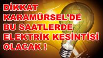 Karamürsel'de Uzun Süre Elektrikler Kesilecek