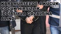 Karamürsel'de 4 Kişi Gözaltına Alındı