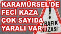 Karamürsel'de Feci Kaza Yaralılar Var !