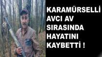 Karamürselli Avcı Konya'da Hayatını Kaybetti
