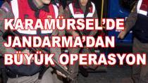 Karamürsel'de Jandarma Operasyon Yaptı