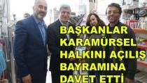 Başkan Karaosmanoğlu Karamürsel'i Ziyaret Etti