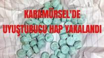 Karamürsel'de 600 Adet Uyuşturucu Hap Yakalandı