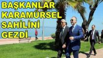 Başkan Karamürsel Sahilini Gezdi