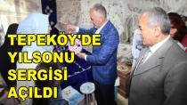 Tepeköy Yılsonu Sergisi Açıldı
