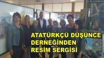 Atatürk Düşünce Derneğinden Resim Sergisi