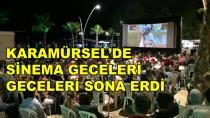 Karamürsel'de Sinema Geceleri Sona Erdi