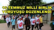Karamürsel'de '15 Temmuz Milli Birlik Yürüyüşü' yapıldı