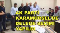 Ak Parti Karamürsel'de Delege Seçimi