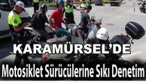 Karamürsel'de Motosiklet Denetimi Arttı