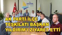 AK Parti'den Başkan Yıldırım'a Ziyaret