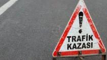 Karamürsel'de Alkollü Sürücü Kaza Yaptı