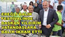 Ereğli'de Balık Festivali Düzenlendi