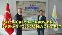 Vali Aksoy Başkan Yıldırım'ı Ziyaret Etti