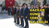 Gaziler Günü Törenle Anıldı