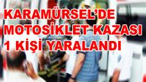Karamürsel'de Motosiklet Kazası Yaralı Var !