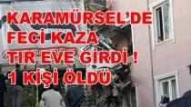 Karamürsel'de Feci Kaza 1 Ölü