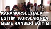 Karamürsel'de Meme Kanseri Eğitimi Verildi