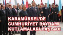 Karamürsel'de Cumhuriyet Bayramı Kutlamaları Başladı