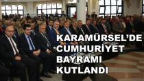 Cumhuriyet Bayramı Karamürsel'de Kutlandı