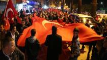 Karamürsel'de Cumhuriyet Yürüyüşü Yapıldı