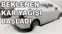 Kocaeli'ye İlk Kar Yağdı