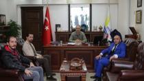 Firuz Mammadov Başkanı Ziyaret Etti
