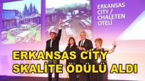 Erkansas City Skalite Ödülü Aldı